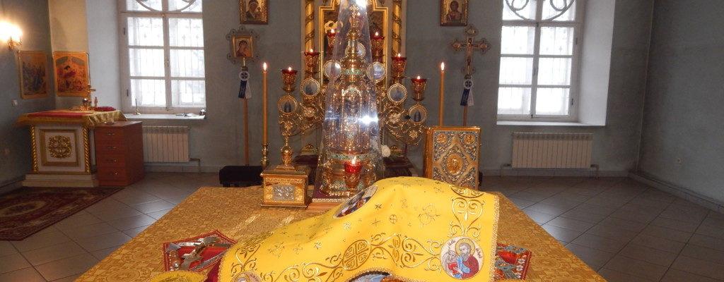 Божественная литургия и вечерня с чином прощения в Покровском храме