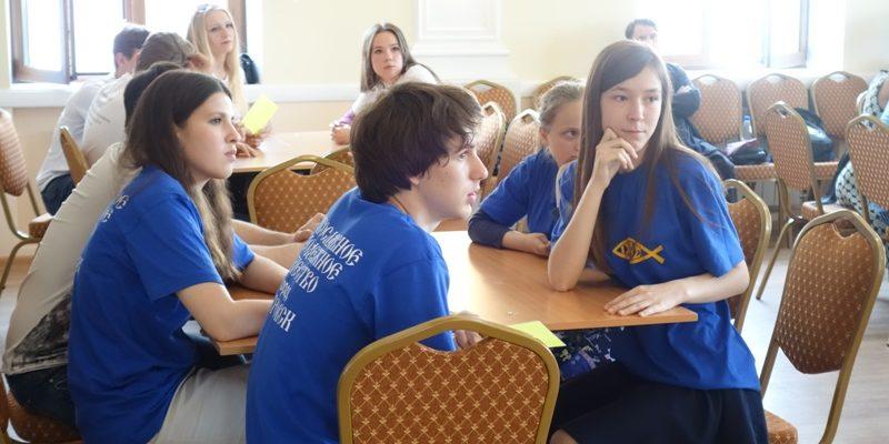 Молодежное общество Ихфис приняло участие в брейн-ринге в Саратове