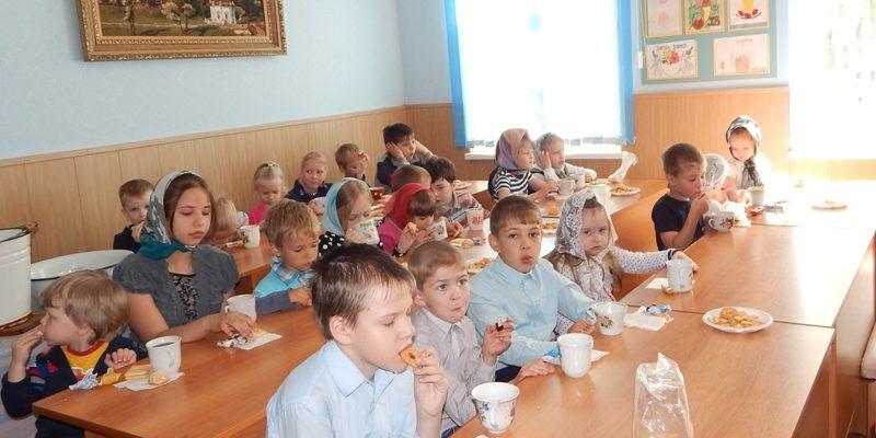 Завершение учебного года в воскресной школе Покровского храма