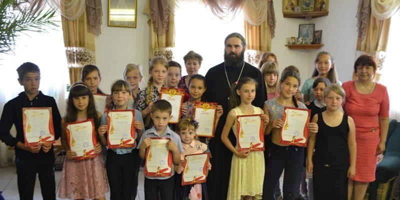 Завершение учебного года в воскресной школе Казанского храма