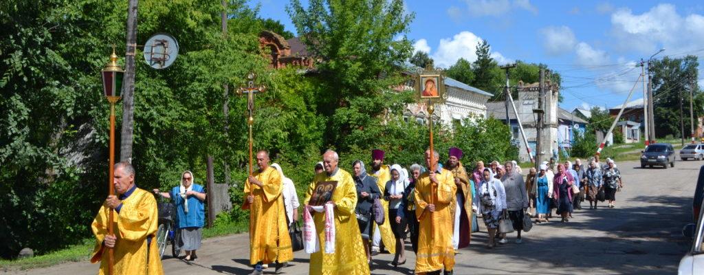 На праздник апостолов Петра и Павла в Петровске состоится крестный ход
