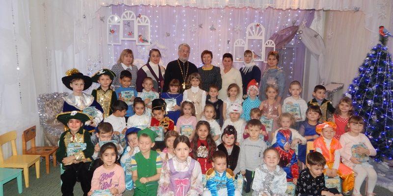 Рождественский утренник в детском саду «Березка»