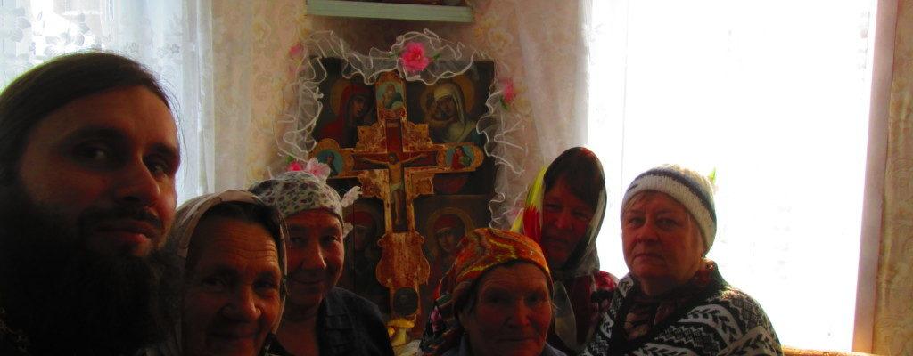 В селе Мокрое Петровского района совершено богослужение
