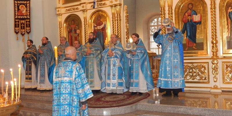 Состоялось собрание духовенства Петровского благочиния